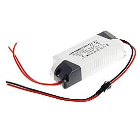 Недорогие Светодиодные драйверы-ZDM 1 шт. 13-18 Вт 85-265 В пластик / пластик + печатная плата + водостойкая эпоксидная крышка светодиодный источник питания