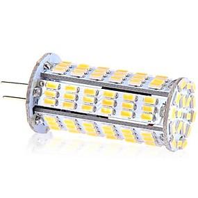 abordables Luces LED de Doble Pin-ywxlight® g4 126led 5w 3014smd luces led bi-pin cool white led corn bulb chandelier lamp ac 220-240 v