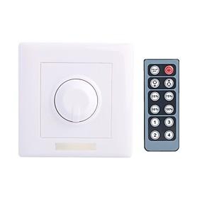 ieftine Întrerupătoare & Prize-8a dc 12-24V condus Dimmer cu 12 taste telecomanda IR pentru lampă de lumină a condus