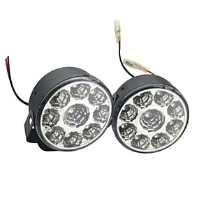 Недорогие Прочие светодиодные лампы-2шт автомобильные лампочки 4w smd привели 9 дневной свет (7.5 * 7.5 * 5cm)