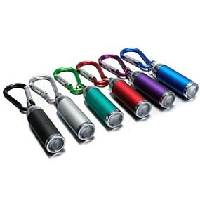 olcso Zseblámpák-LS174 Kulcstartó elemlámpák LED - 1 Sugárzók Mini Sürgősségi Kis méret Kempingezés / Túrázás / Barlangászat Mindennapokra Halászat