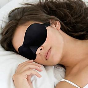 billige Rejsetilbehør-Sovemaske til rejsebrug 3D Bærbar Solskygge Justérbar Bekvem Rejsestøtte Sømløs Åndbarhed 1set for Rejse