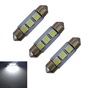 Недорогие Прочие светодиодные лампы-3шт 1 W Декоративное освещение 60 lm Фестон 3 Светодиодные бусины SMD 5050 Холодный белый 12 V / 3 шт.