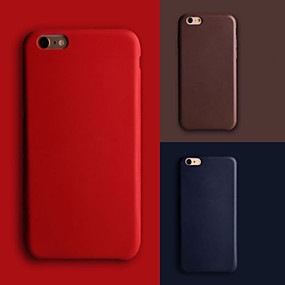 halpa Apple tarvikkeet-Etui Käyttötarkoitus Apple iPhone 8 / iPhone 8 Plus / iPhone 7 Ultraohut Takakuori Yhtenäinen Kova PU-nahka varten iPhone 8 Plus / iPhone 8 / iPhone 7 Plus
