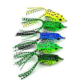 ieftine Momeală Pescuit-5 pcs Momeală moale Δόλωμα Momeală moale Broască Plastic Dur Scufundare Pescuit mare Pescuit de Apă Dulce Momeală pescuit