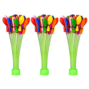 cheap Toy & Game-Balloon Pools & Water Fun Magic Water Balloons Kit Refillable Party Inflatable Silicone 110 pcs Pieces Boys' Girls' Toy Gift