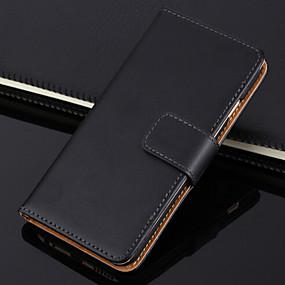 abordables Coques d'iPhone-cas pour iphone xr xs xs max portefeuille / porte-carte / avec support solide en cuir véritable de couleur pour iphone x 8 8 plus 7 7plus 6s 6s plus se 5 5s