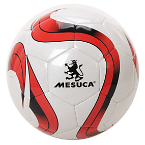 cheap Team Sports-Mesuca ® Training Competition Hand Sewn PU Soccer Durable Football Gas Leak-proof MAB50108