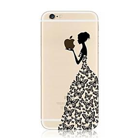 olcso iPhone tokok-Apple iphone xr xs xs átlátszó / minta hátsó borító almás logóval puha tpu iphone x 8 8 és 7 7plus 6s 6s plus se 5 5s