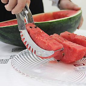 abordables Ustensiles et Gadgets de Cuisine-Acier inoxydable Cutter & Slicer Creative Kitchen Gadget Outils de cuisine Pour Fruit 1pc