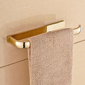 economico Accessori per il bagno-Portasciugamani a muro Moderno Ottone 1 pezzo - Bagno dell'hotel 1 barra di asciugamano
