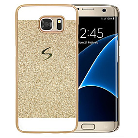 voordelige Galaxy S6 Edge Plus Hoesjes / covers-hoesje Voor Samsung Galaxy S8 Plus / S8 / S6 edge plus Patroon Achterkant Glitterglans Hard PC