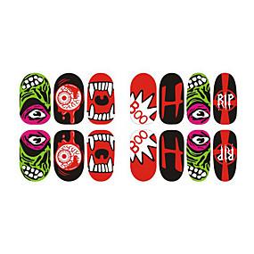 cheap Makeup & Nail Care-Nail Art Sticker  Makeup Cosmetic Nail Art Design