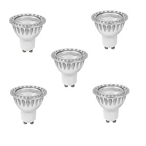 Недорогие Точечное LED освещение-3 W Точечное LED освещение 280-350 lm GU10 MR16 1 Светодиодные бусины COB Диммируемая Тёплый белый Холодный белый 220-240 V / RoHs