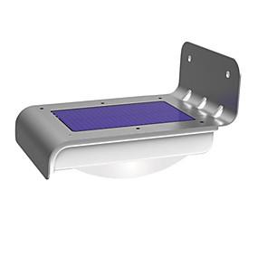 voordelige LED-verlichting op zonne-energie-1 stuks Nacht Lampen / LED-lampen op zonne-energie Wit Op zonne-energie Waterbestendig / Sensor