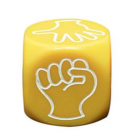 olcso Játékok & hobbi-Dobókocka Kockák és Chips Professzionális Móka ABS Klasszikus 5 pcs Darabok Felnőttek Férfi Női Játékok Ajándék