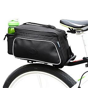 billiga Cykeltillbehör-ROSWHEEL 10 L Väskor till pakethållaren Vattentät Bärbar Stötsäker Cykelväska Duk Polyester pvc Cykelväska Pyöräilylaukku Cykling / Cykel