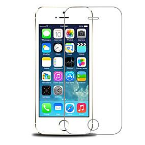 billige Premium-mærker-OUKU Skærmbeskytter for Apple iPhone SE / 5s / iPhone 5 / iPhone 5c Hærdet Glas 1 stk Skærmbeskyttelse High Definition (HD) / 9H hårdhed / Eksplosionssikker