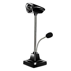economico Webcam-USB 2.0 HD Webcam 0.8m CMOS 640x480 30fps