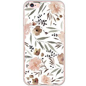 halpa iPhone 6s kotelot-kotelo omena iphone xr xs xs max iskunkestävä / pölytiivis / kuvio takakansi kukka kova tietokone iphone x 8 8 plus 7 7plus 6s 6s plus se 5 5s