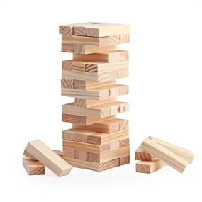 billige Daglige tilbud-Brætspil Stablespil Træblokke Mini Træ Klassisk Drenge Pige Legetøj Gave