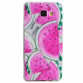 voordelige Galaxy A3(2016) Hoesjes / covers-hoesje Voor Samsung Galaxy A5(2016) / A3(2016) Patroon Achterkant Fruit Zacht TPU