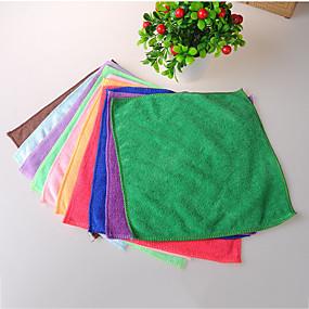 baratos Até R$ 3,39-Alta qualidade 1pç Têxtil Escova e Pano de Limpeza Ferramentas, Cozinha Produtos de limpeza