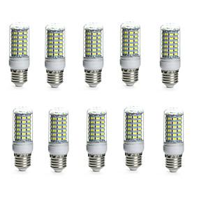 ieftine Becuri LED Corn-10pcs 10 W Becuri LED Corn 850-950 lm E14 G9 GU10 Tub 69 LED-uri de margele SMD 5730 Rezistent la apă Decorativ Alb Cald Alb Rece 220-240 V 110-130 V / 10 bc / RoHs