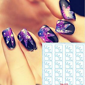 ieftine Acțibilde Unghii-5 Nail Art autocolant Diecut Manichiura Stencil machiaj cosmetice Nail Art Design