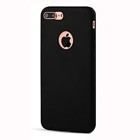 저렴한 오늘의 특가-케이스 제품 Apple iPhone 8 / iPhone 8 Plus / iPhone 7 충격방지 뒷면 커버 솔리드 소프트 TPU 용 iPhone 8 Plus / iPhone 8 / iPhone 7 Plus
