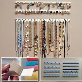 billige Opbevaring og organisering-Plast Oval Rejse Hjem Organisation, 1pc Smykkeopbevaring