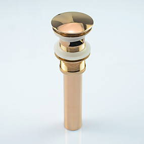 cheap Bathroom Gadgets-Copper Basin Bidet Bumper Tap Faucet Accessories With No Overflow Hole