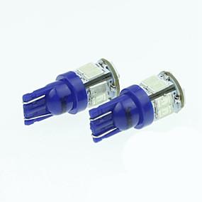 billige Til Bilen & Motorcyklen-t10 149 W5W 11led 5730smd varm hvid / gul / blå 5W 240-280lm dc12-16v læselamper
