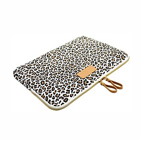 "ieftine Carcase MacBook Air 13""-Mâneci Imprimeu Leopard pânză pentru MacBook Pro 13-inch / MacBook Air 11-inch / MacBook Air 13-inch"