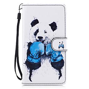 billiga Universella mobiltillbehör-fodral Till Huawei Honor 7 / Huawei P9 Lite / huawei Y560 Plånbok / Korthållare / med stativ Fodral Djur Hårt PU läder för Huawei P9 Lite / P8 Lite (2017) / Honor 8