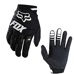 voordelige Motorhandschoenen-full-finger unisex koolstofvezel motorfietsen handschoenen off-road handschoenen fietshandschoenen outdoor-handschoenen