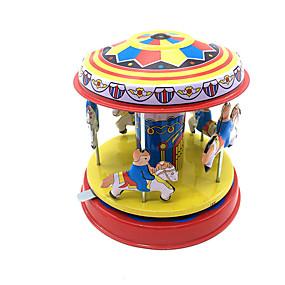olcso Játékok & hobbi-Felhúzós játék Cuki Ló Körhinta Merry Go Round Fémes Vas 1 pcs Darabok Gyermek Fiú Lány Játékok Ajándék