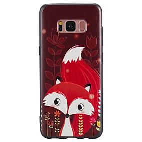 billige Daglige tilbud-Etui Til Samsung Galaxy S8 Plus / S8 Mønster Bagcover Dyr Blødt TPU for S8 Plus / S8 / S7 edge