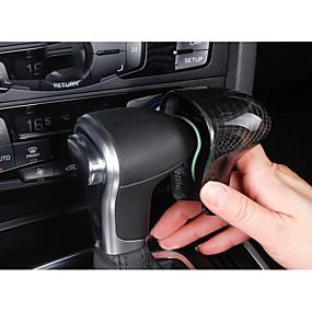 billige Car Shift Knobs-Til Bilen Vehicle Shift Knob Refit(Kulstoffiber)Til Audi 2014 2015 2013 Q7