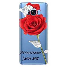 voordelige Galaxy S7 Edge Hoesjes / covers-hoesje Voor Samsung Galaxy S8 Plus / S8 / S7 edge Patroon Achterkant Bloem Zacht TPU