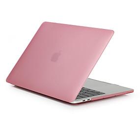 abordables Accessoires Apple-MacBook Etuis Dépoli Couleur Pleine Polycarbonate pour MacBook Pro 13 pouces / MacBook Pro 15 pouces / MacBook Air 13 pouces
