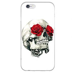 ราคาถูก เคสสำหรับ iPhone-Case สำหรับ Apple iPhone X iPhone 8 Plus Pattern ฝาครอบหลัง กระโหลก Soft TPU สำหรับ iPhone X iPhone 8 Plus iPhone 8 iPhone 7 พลัส iPhone