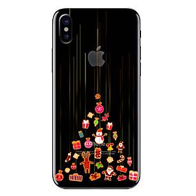billige Trendy topvalg-Etui Til Apple iPhone X / iPhone 8 Transparent / Mønster Bagcover Jul Blødt TPU for iPhone X / iPhone 8 Plus / iPhone 8
