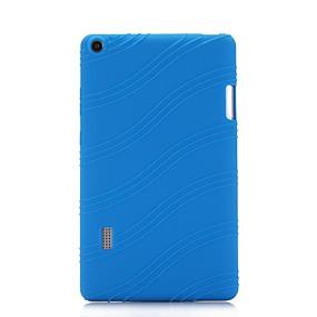 tanie Akcesoria do tabletów-Kılıf Na Huawei MediaPad T3 7.0 Z podpórką Osłona tylna Solidne kolory / Prążki Miękka Silikon na MediaPad T3 7.0