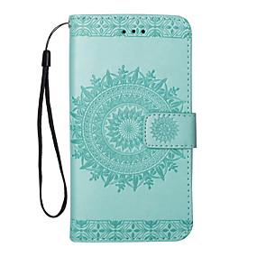 abordables Coques d'iPhone-Coque Pour Apple iPhone X / iPhone 8 Portefeuille / Porte Carte / Avec Support Couleur Pleine Dur faux cuir pour