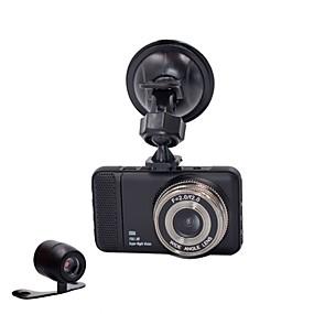 voordelige Auto DVR's-848 x 480 / 1280 x 720 / 1440 x 1080 Auto DVR 170 graden Wijde hoek 3 inch(es) Dash Cam met G-Sensor / Parkeermodus Neen Autorecorder / 1920 x 1080