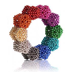 ieftine Jucării & Hobby-uri-216/512/1000 pcs 5mm Jucării Magnet bile magnetice Lego Super Strong pământuri rare magneți Magnet Neodymium Magnet Neodymium Clasic & Fără Vârstă Stres și anxietate relief Birouri pentru birou