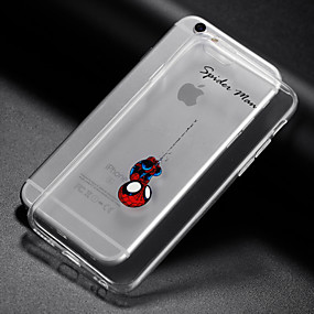 abordables Coques d'iPhone-Coque Pour Apple iPhone X / iPhone 8 / iPhone XS Transparente Coque Jeux Avec Logo Apple Flexible TPU pour iPhone XS / iPhone XR / iPhone XS Max