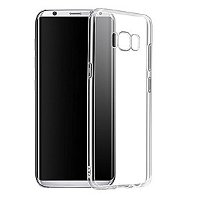 ieftine Accesorii Telefon Mobil-Maska Pentru Samsung Galaxy S9 Plus / S9 Transparent Capac Spate Mată Moale TPU pentru S9 / S9 Plus / S8 Plus