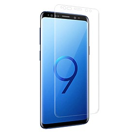 levne Samsung doplňky-Screen Protector pro Samsung Galaxy S9 / S9 Plus PET 1 ks Fólie na displej High Definition (HD) / odolné proti výbuchu / Ultra tenké